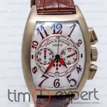 Franck Muller Cintree Curvex Brown-Write