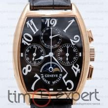 Franck Muller Cintree Curvex Chronograph Gold-Black