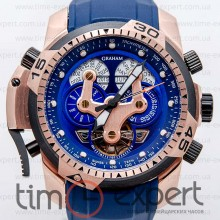 Graham Prodive Turbillon Gold-Blue