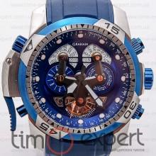 Graham Prodive Turbillon Steel-Blue