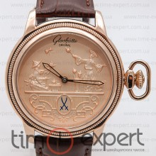 Glashutte Dia Kollection Gold-Brown