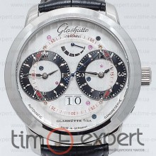Glashutte Senator Automatic GMT Steel-Black