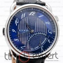 Hermes Arceau Steel-Blue