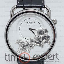 Hermes H Hour Silver-Write