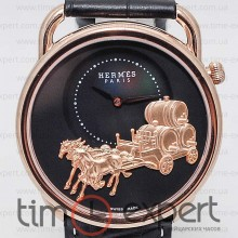 Hermes H Hour Gold-Black