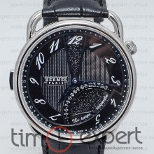 Hermes Arceau Steel-Black