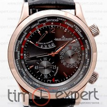Jaeger-LeCoultre Master Control World Geographic Gold-Black