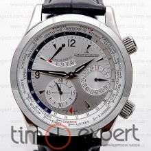 Jaeger-LeCoultre Master Control World Geographic Silver-Write