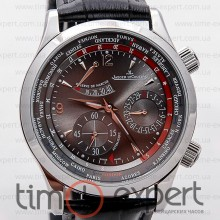 Jaeger-LeCoultre Master Control World Geographic Silver-Black