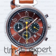 Louis Vuitton Tambour Chronometre Steel-Brown