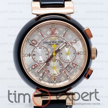 Louis Vuitton Tambour Chronometre Black-Write