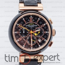 Louis Vuitton Tambour Chronometre Black-Gold