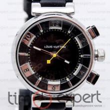 Louis Vuitton Tambour Chronometre Silver-Black