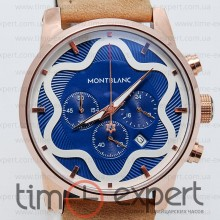 Montblanc Sport Chronograph Gold-Brown