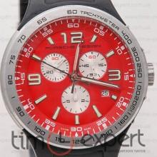 Porsche Desing Chronograph Silver-Red