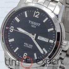 Tissot T-Classic PRC 200 Automatic Steel-Black