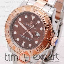 Rolex Yacht-Master Steel-Gold-Brown