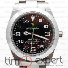 Rolex Air-King Silver-Black