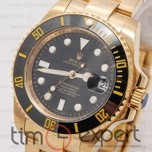 Rolex Submariner (44) Gold-Black