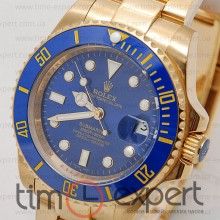 Rolex Submariner (44) Gold-Blue