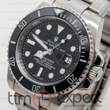 Rolex Submariner (40) Silver-Black