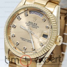 Rolex Oyster Perpetual 36  Day-Date Gold-Diamond