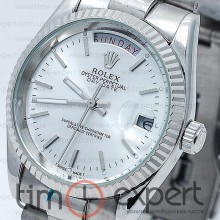 Rolex Oyster Perpetual 36 Day-Date Steel-Blue