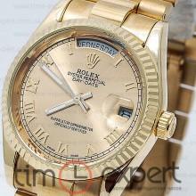 Rolex Oyster Perpetual 36 Day-Date Gold-Rim