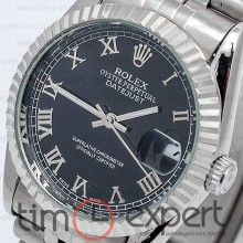 Rolex DateJust Steel-Black