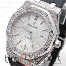 Audemars Piguet (Механика) Royal Oak Diamonds Steel-Write