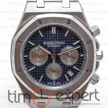 Audemars Piguet Royal Oak Chronograph Steel Silver-Gray-Blue