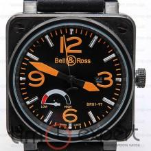 Bell&Ross Aviation Br 01 Power Reserve All Black