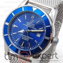 Breitling Superocean Hurricane Steel Blue