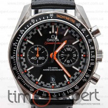 Omega Speedmaster Chronograph Moonwatch Black-Steel