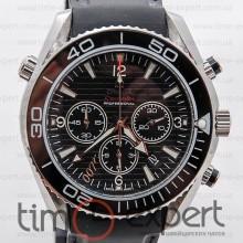 Omega Seamaster Planet Ocean Chronograph Black 007