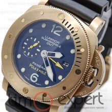 Panerai Luminor Submersible GMT Pole2Pole Gold-Black