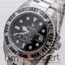 Rolex Submariner (40) Diamond-Black