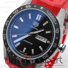 Tag Heuer Connected Steel-Red