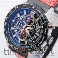 Tag Heuer Carrera Calibre 1 Steel-Red
