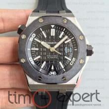 Audemars Piguet Royal Oak Offshore Diver Black-Silver Ceramic 3120