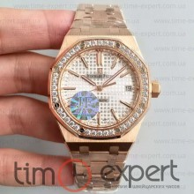 Audemars Piguet (37mm) Bracelet Royal Oak Gold-Write Diamond 3120