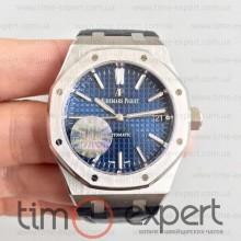 Audemars Piguet (37mm) Royal Oak Steel-Blue 3120
