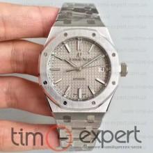 Audemars Piguet (37mm) Bracelet Royal Oak Silver-Gray 3120