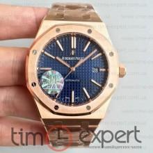 Audemars Piguet (41mm) Bracelet Royal Oak Gold-Blue 3120