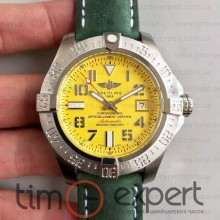 Breitling Seawolf Steel-Yellow-Green (ETA 2824)