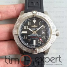Breitling Seawolf Steel-Black Rubber Black (ETA 2824)