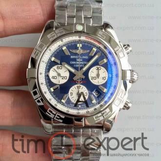 Breitling Chronomat Chronograph Bracelet Steel-Blue 7750