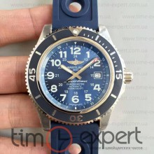 Breitling Superocean II Steel-Blue Rubber Blue