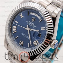 Rolex Oyster Perpetual 36 Day-Date Silver-Blue