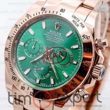 Rolex Cosmograph Daytona Qvartz Chronograph Gold-Green